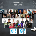 We Day Lineup Announced For Winnipeg and Calgary