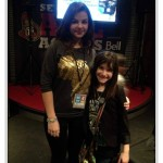 Ashley and Hannah Alper at We Day Ottawa2