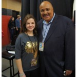 Ashley and Martin Luther King III, National We Day 2014