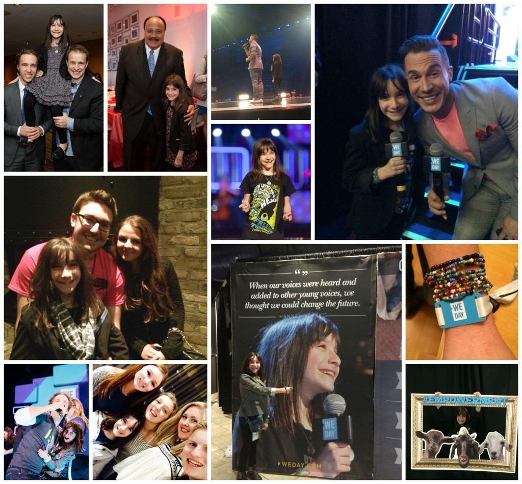 WE Day Year End Collage